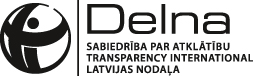 Transparency International Latvia - Delna logo