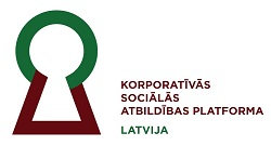 Platform for Corporate Social Responsibility Latvia logo