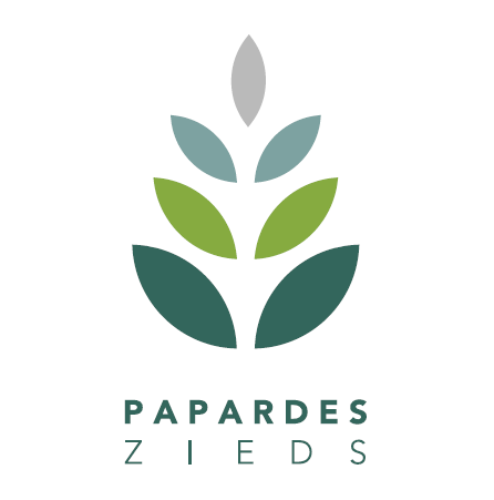 "Latvia's Association for Family Planning and Sexual Health ""Papardes zieds"" logo"